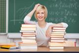 Bild:Bücherliste und DVDs